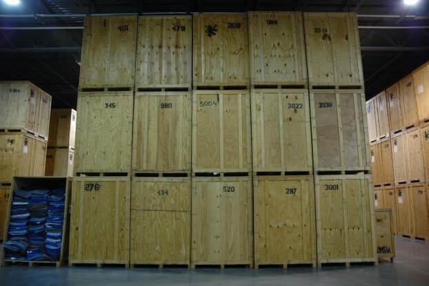 90,000 sqft of storage at our Lorton, VA warehouse